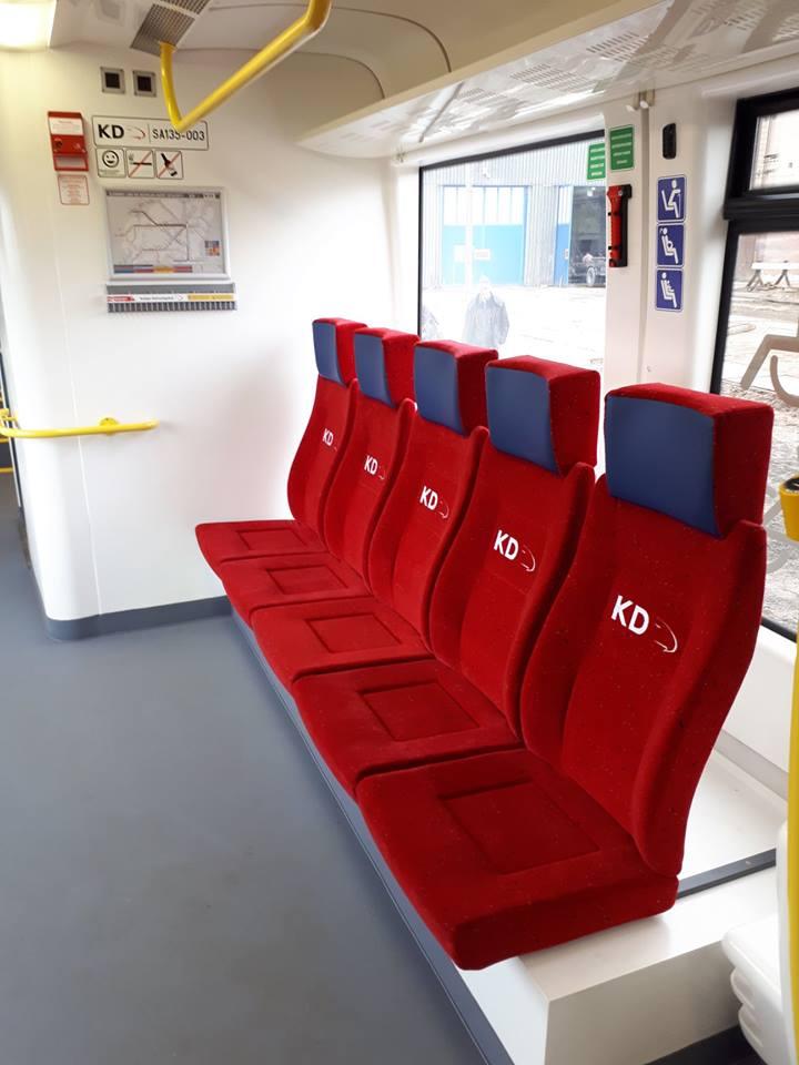 NaKolei.pl - Wygodniejsze fotele w ramach przeglądu P4 składów KD