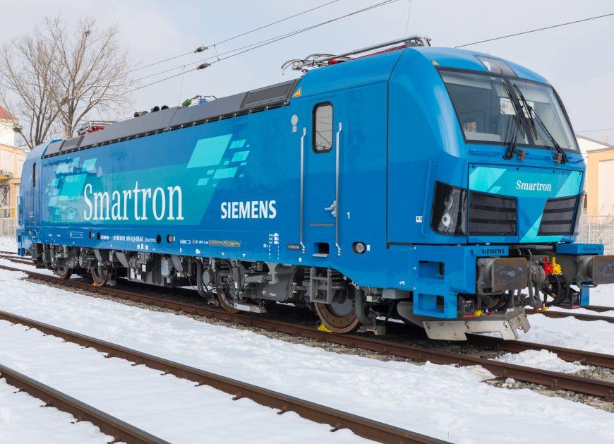 NaKolei.pl - Siemens z nową lokomotywą. Smartron będzie kursował w Niemczech