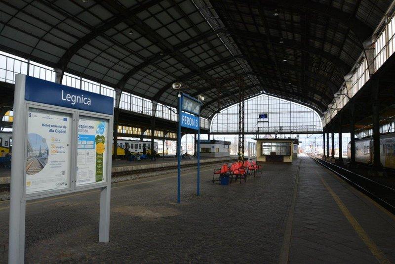 NaKolei.pl - 27 mln zł za remont stacji Legnica