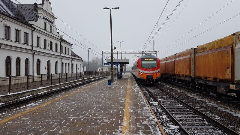 NaKolei.pl - Remont stacji Biała Podlaska, Małaszewicze i Terespol na linii kolejowej E20
