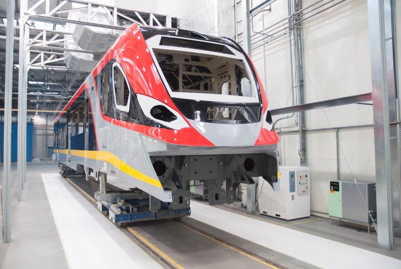 Pociągi Impuls II dla ŁKA będą gotowe już w maju