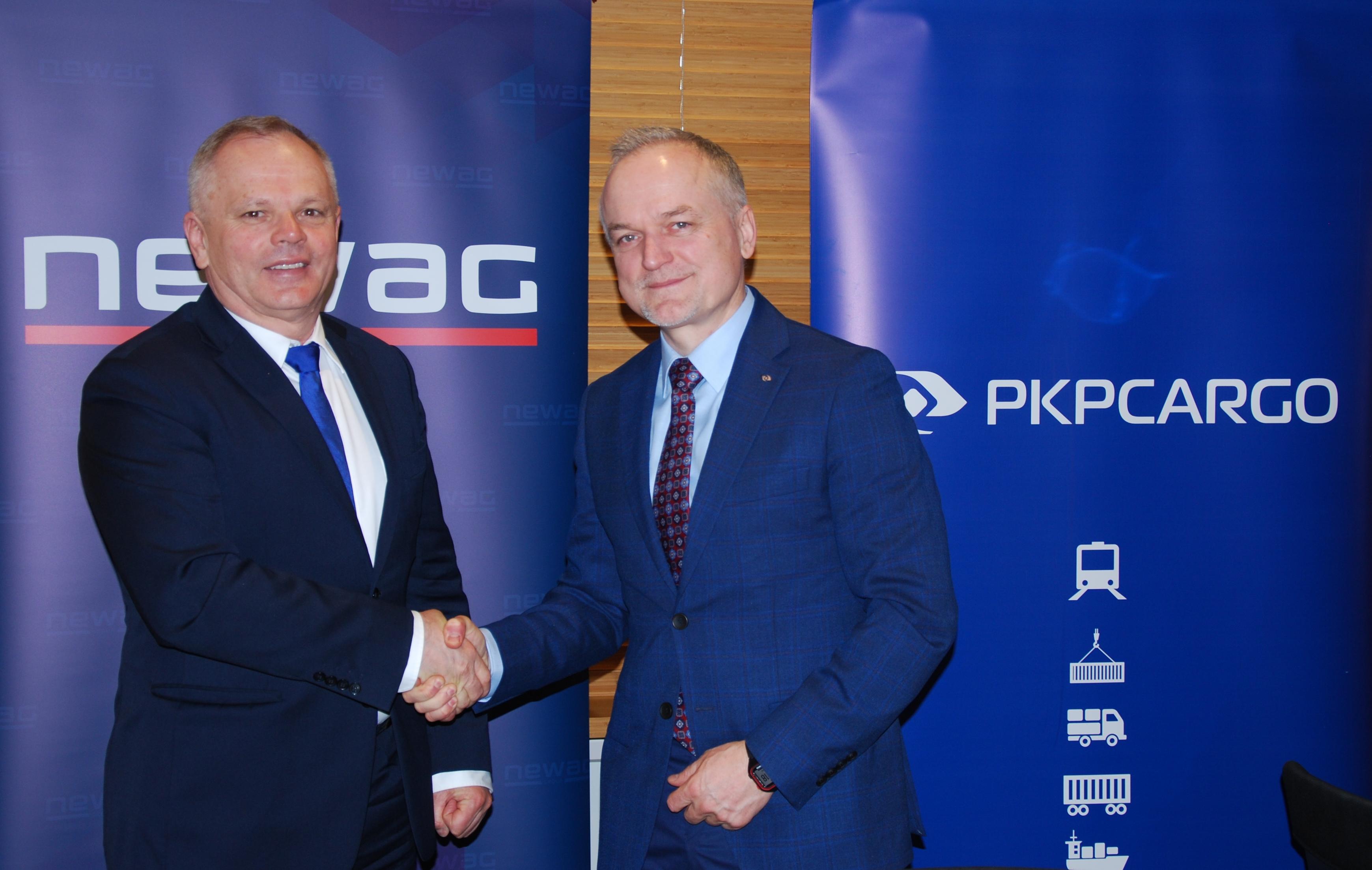 NaKolei.pl - Newag do maja 2021 roku zmodernizuje 60 lokomotyw spalinowych dla PKP CARGO