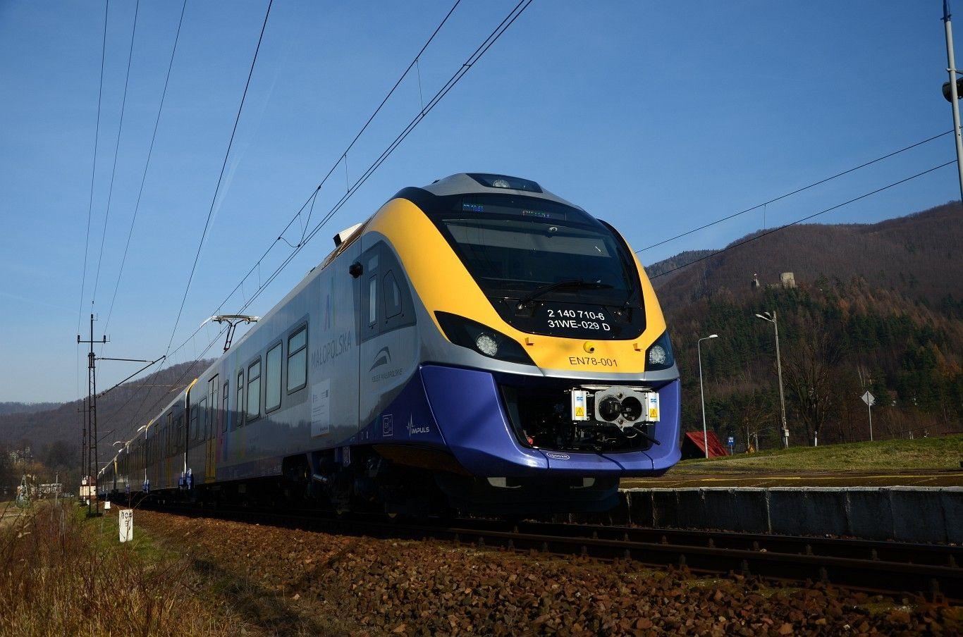 NaKolei.pl-Kolej ratuje transport: Połączenie Nowy Sącz-Stary Sącz-Rytro
