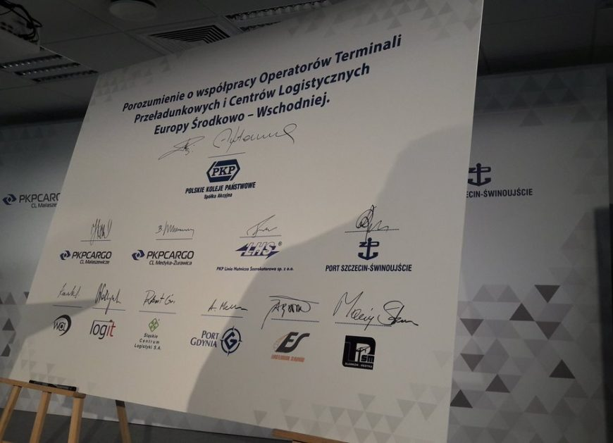 NaKolei.pl- Porozumienia Operatorów Terminali i Centrów Logistycznych Europy Środkowo – Wschodniej