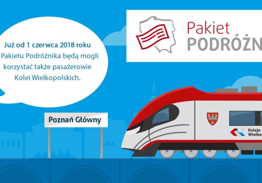 NaKolei.pl - Koleje Wielkopolskie kolejnym przewoźnikiem w Pakiecie Podróżnika