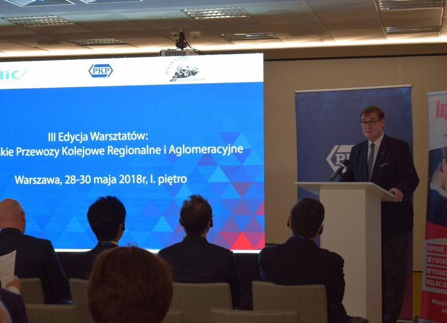 NaKolei.pl - Międzynarodowy Związek Kolei zorganizował warsztaty. Doświadczeniami i wiedzą dzieli się na nich m.in. PKP S.A.