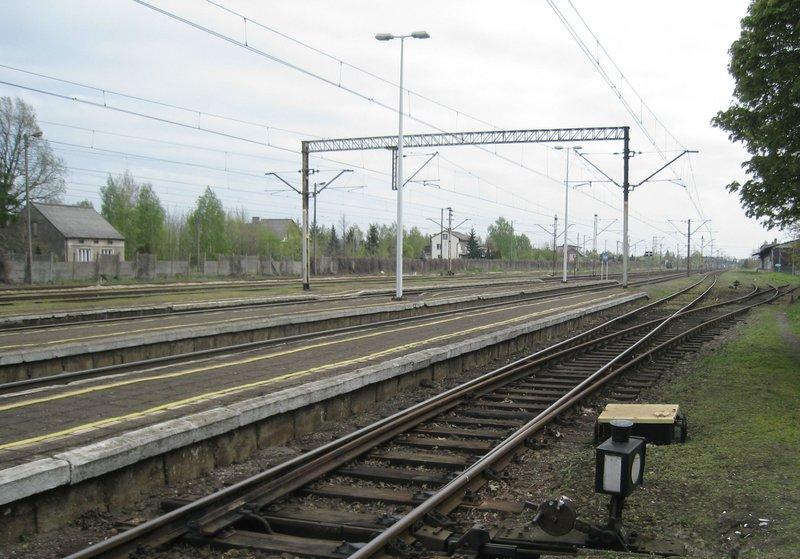 NaKolei.pl - Remont linii Ozorków - Łęczyca