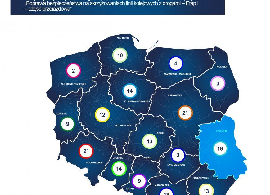 NaKolei.pl - Przejazdy na Lubelszczyźnie będą bezpieczniejsze
