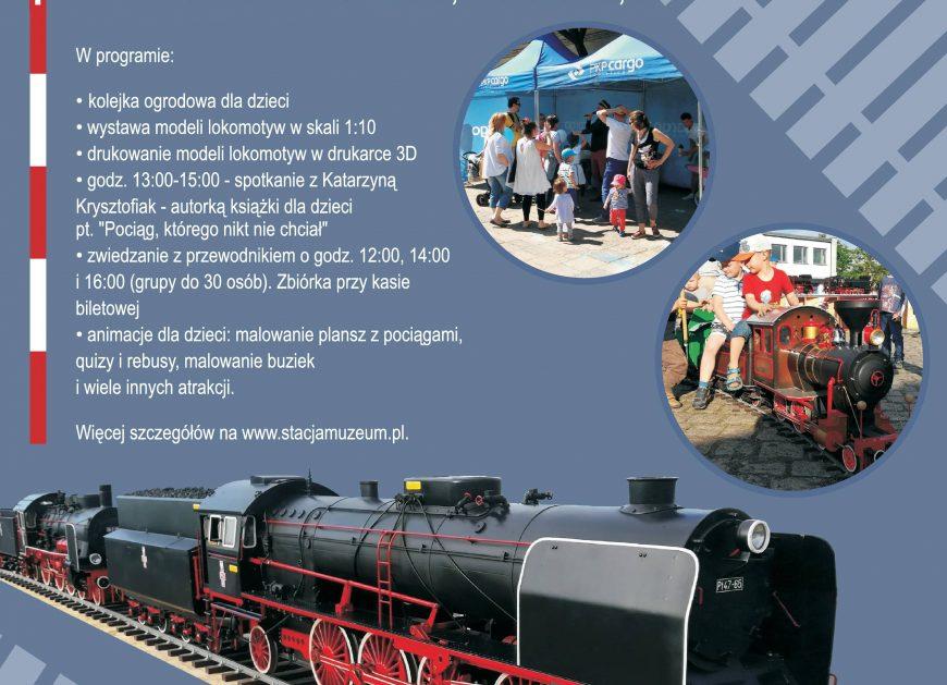 NaKolei.pl - Kolejowy Dzień Dziecka w Stacji Muzeum - weekendowy wstęp wolny dla osób do 18. roku życia