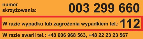 NaKolei.pl - Naklejki PKP PLK pojawią się na wszystkich przejazdach do końca maja