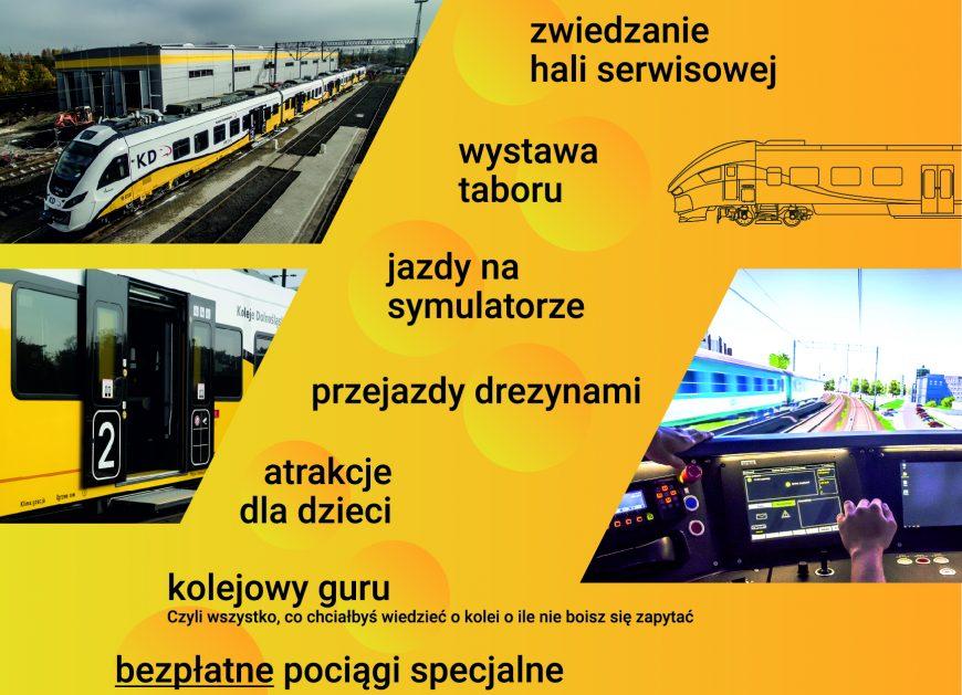 NaKolei.pl - Drzwi Otwarte Kolei Dolnośląskich. Otworzą się także wrota do nowej hali serwisowej