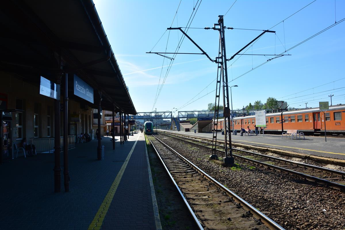 NaKolei.pl - Modernizacja stacji Rzeszów Główny i nowy przystanek Rzeszów Zachodni