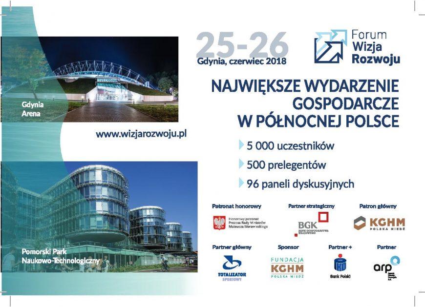 NaKolei.pl - Forum Wizja Rozwoju w Gdyni rusza już za 5 dni! Partnerem kolejowym wydarzenia będą Przewozy Regionalne