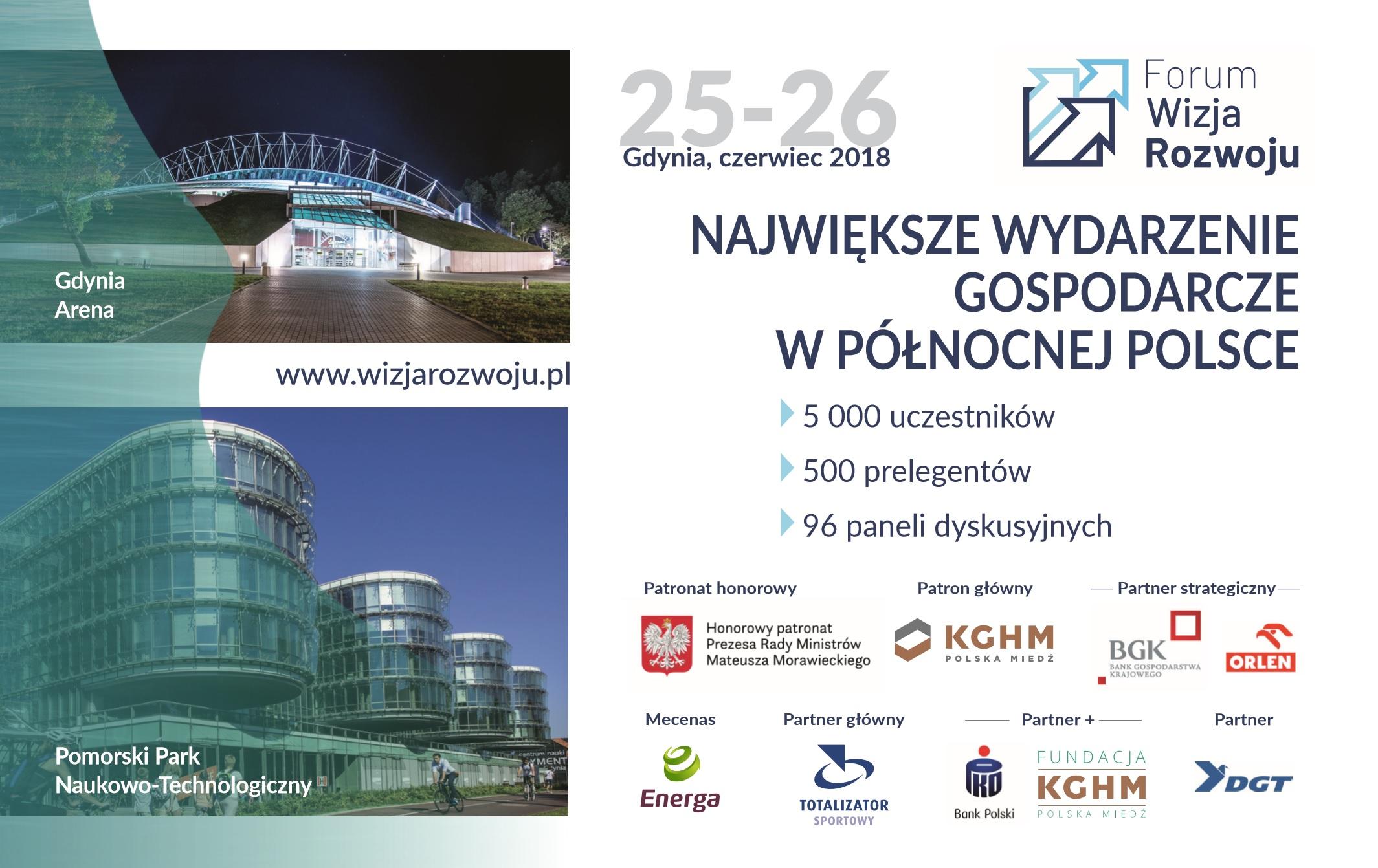 NaKolei.pl - W Gdyni 25 czerwca o godzinie 11.00 startuje Forum Wizja Rozwoju
