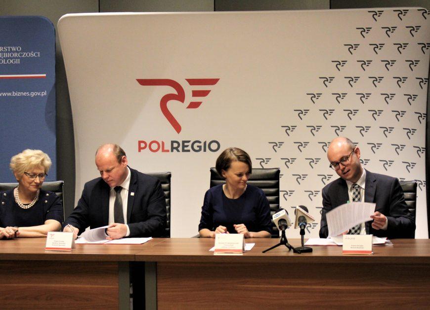 NaKolei.pl - Umowa POLREGIO i Astarium podpisana. Bilety wracają do popularnego systemu sprzedaży KOLEO