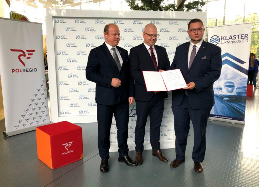 NaKolei.pl - Klaster Luxtorpeda 2.0 już z udziałem Przewozów Regionalnych. Podpisano deklarację członkowską