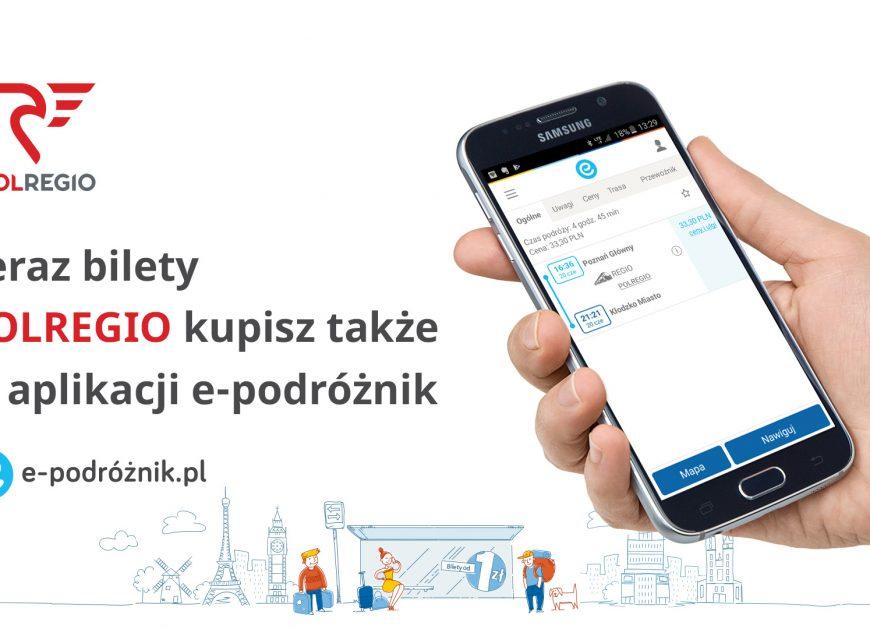 NaKolei.pl - Rozwój sieci sprzedaży biletów POLREGIO trwa. Czas na aplikację e-podróżnik.pl
