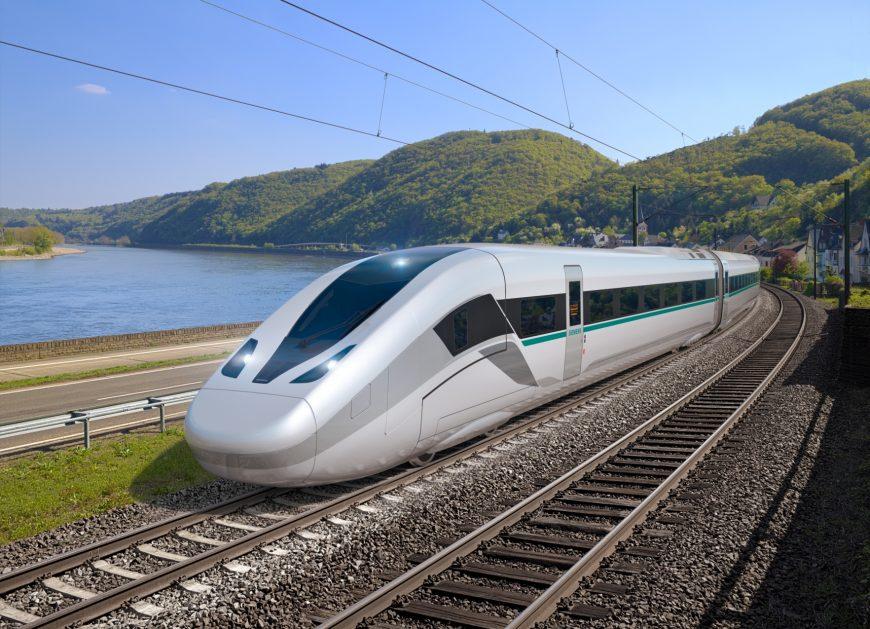 NaKolei.pl - Po pięciu latach prac projektowych Siemens prezentuje nową generację pociągu Velaro Novo