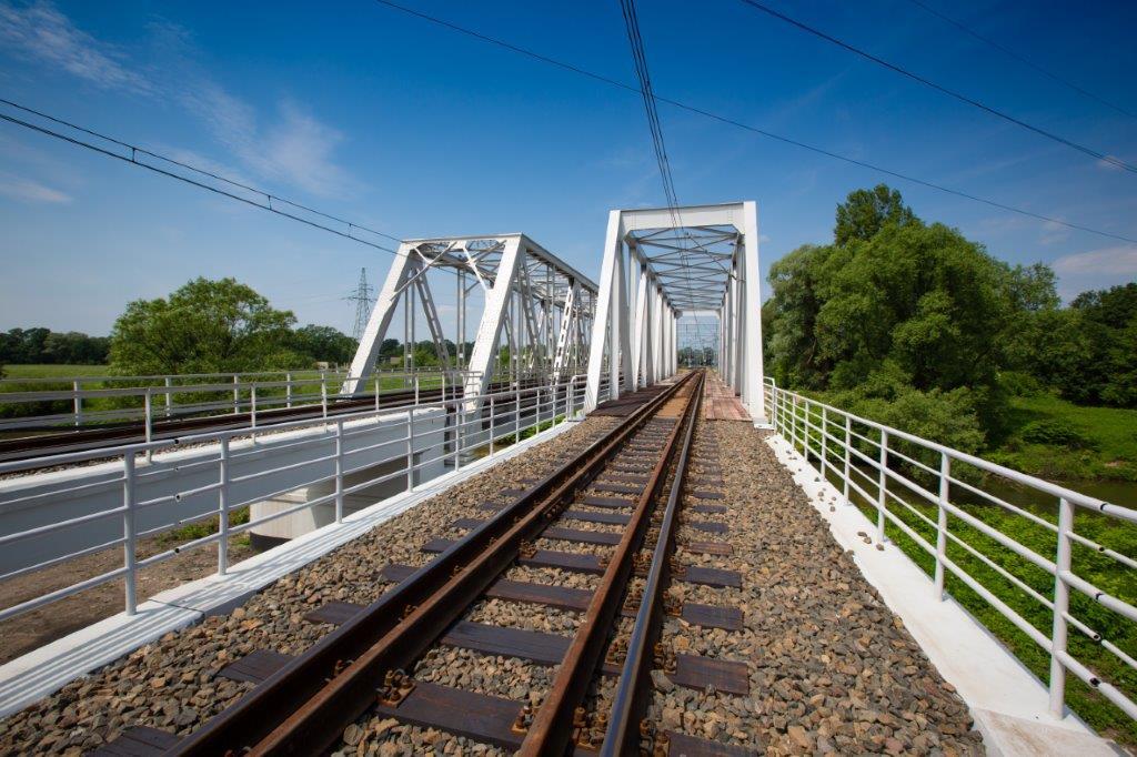 Inwestycja PLK w Rybniku. Wśród prac m.in. wzmocnienie Mostu Zamysłowskiego nad Nacyną