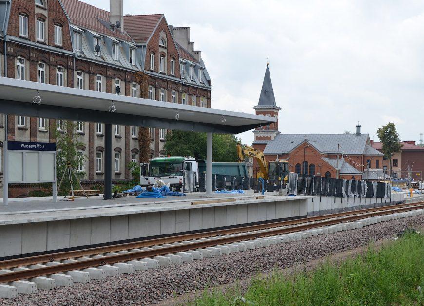 NaKolei.pl - W kwietniu 2019 r. zakończą się prace na warszawskiej linii obwodowej