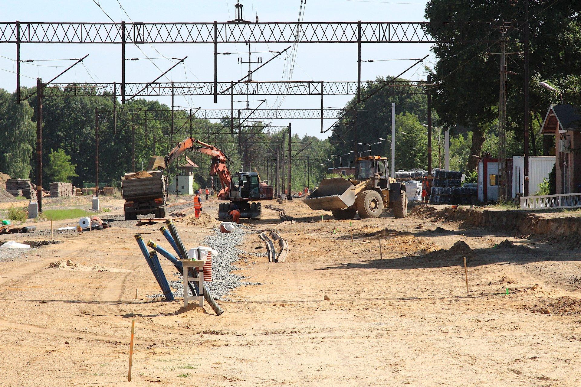 Nowy przystanek Lubin Stadion na łączniku magistrali E30 z Nadodrzanką