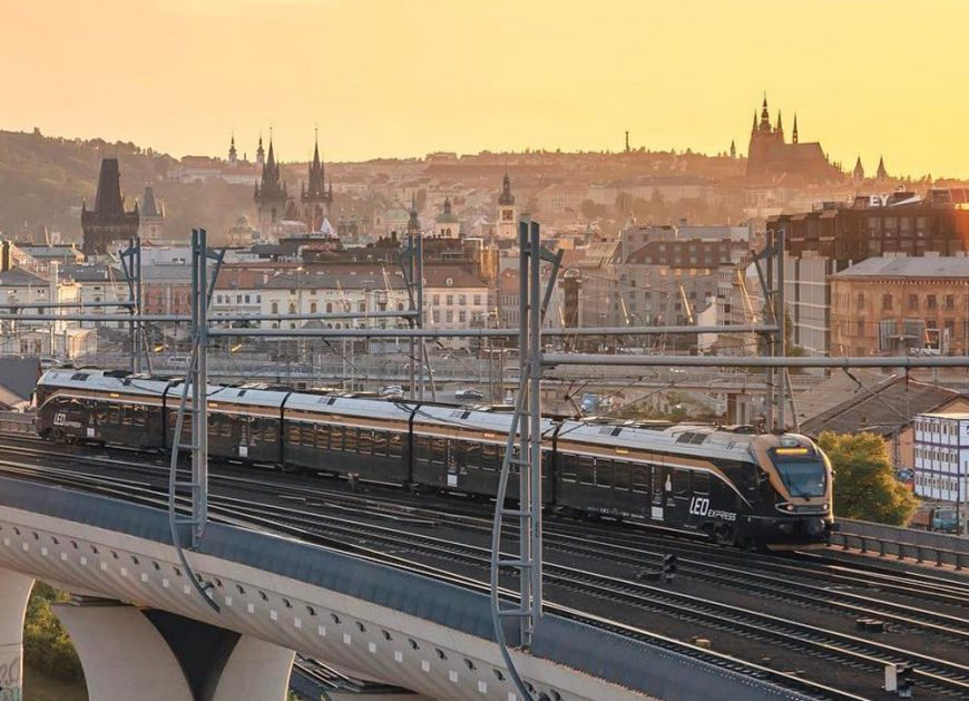 NaKolei.pl - Leo Express wjeżdża do Polski! 20 lipca ruszy pierwszy pociąg relacji Praga-Kraków