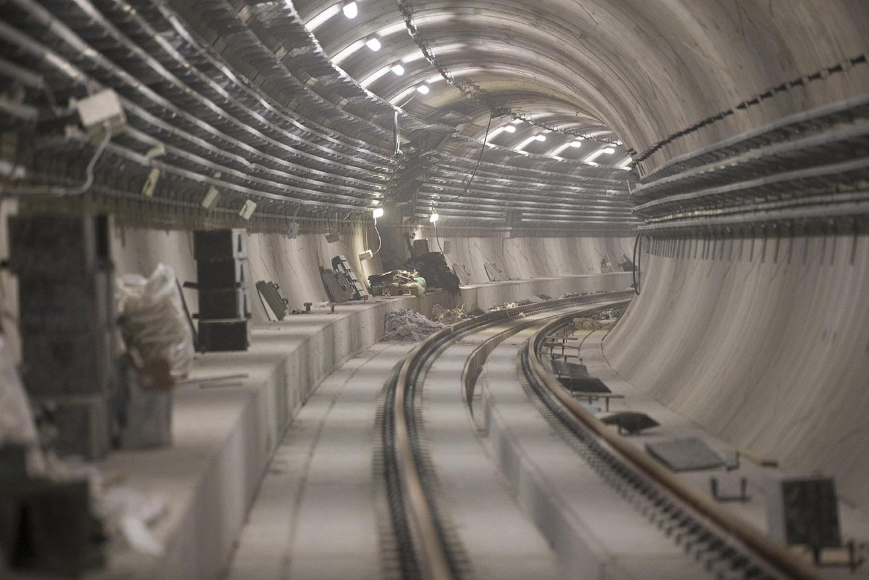 NaKolei.pl - Są dwa ostatnie pozwolenia na budowę końcowego odcinka II linii metra po prawej stronie Wisły