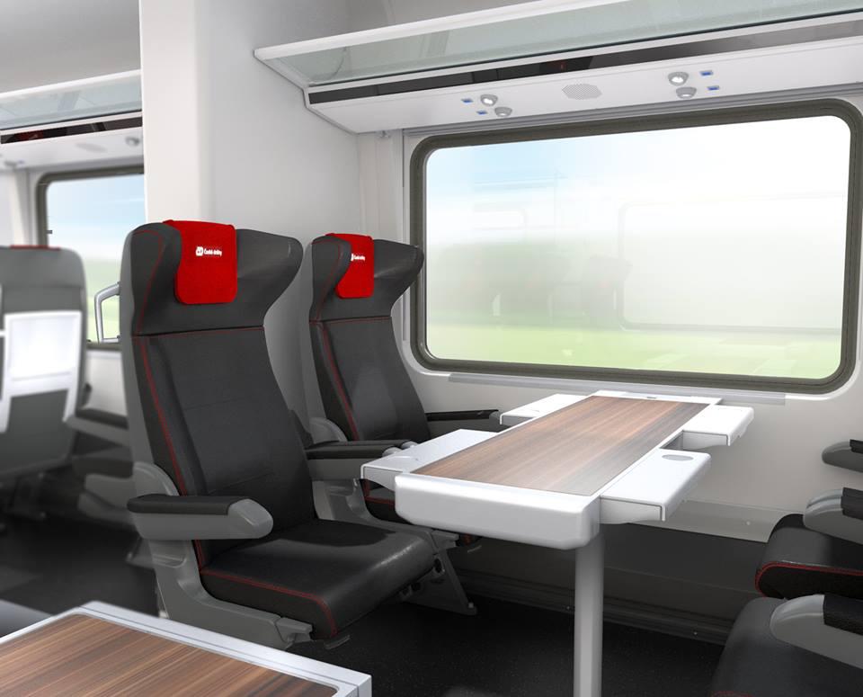 ČESKÉ DRÁHY zamówiły 50 wagonów od konsorcjum Siemens-Skoda