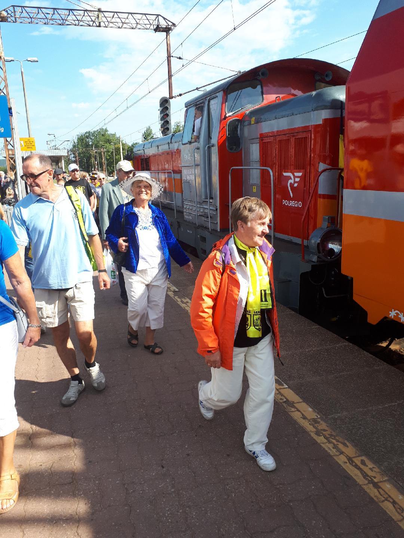 """Blisko 1600 pasażerów pociągu specjalnego ,,Transcassubia"""""""