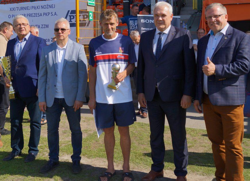 NaKolei.pl - Turniej Piłki Nożnej o Puchar Prezesa PKP SA i Prezydenta ZZM - XXI. edycja już za nami