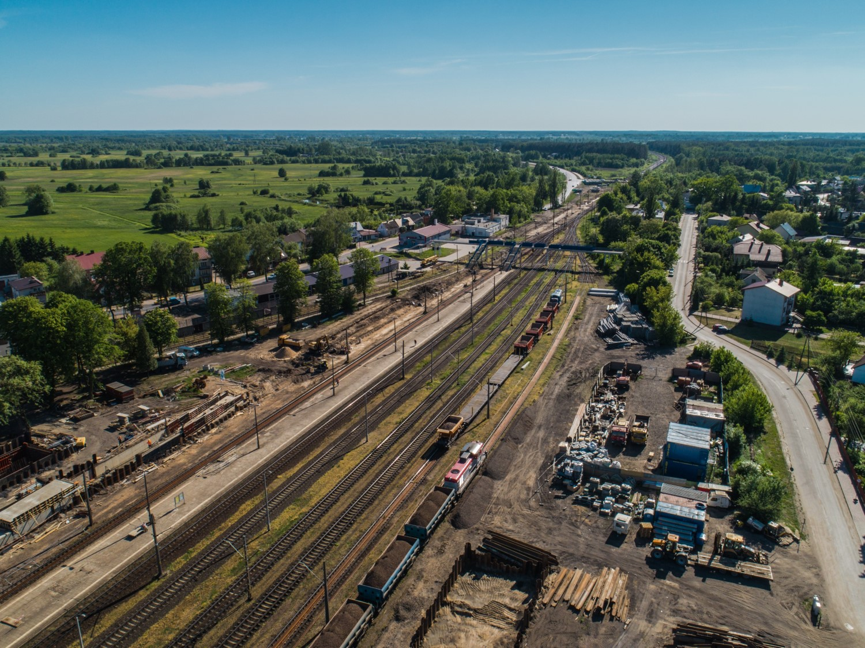 NaKolei.pl - Rail Baltica z nowymi mostami. Odcinek Sadowne-Czyżew będzie gotowy w 2019 roku