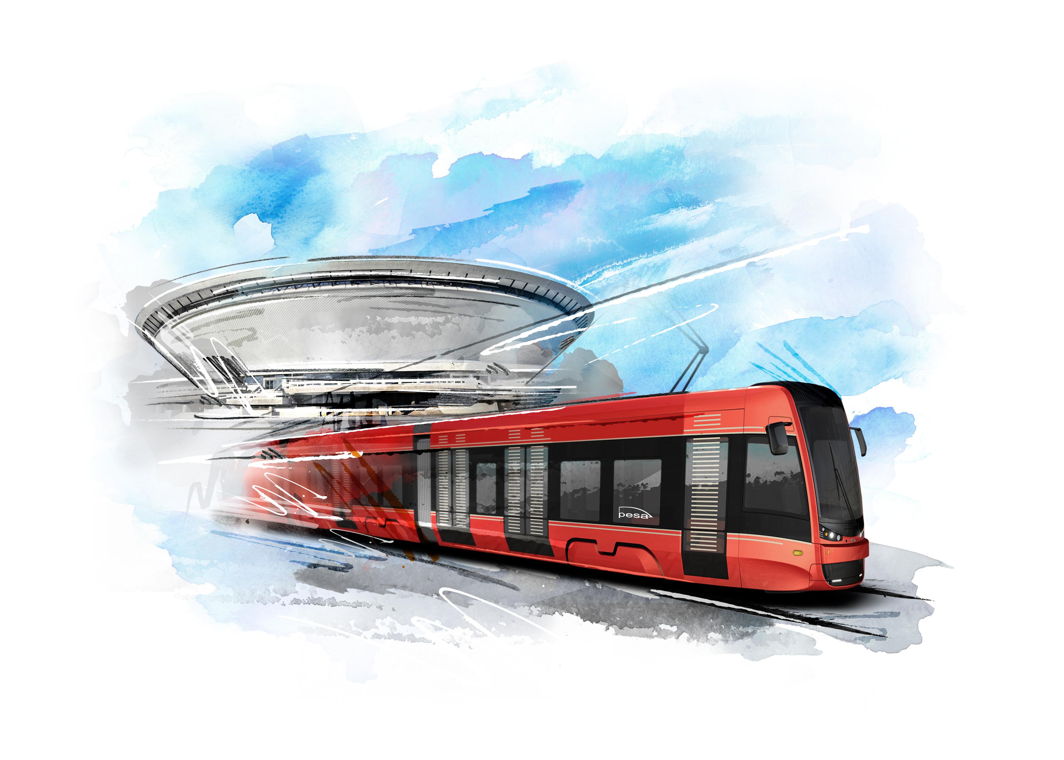 Pesa dostarczy 35 tramwajów Twist dla spółki Tramwaje Śląskie