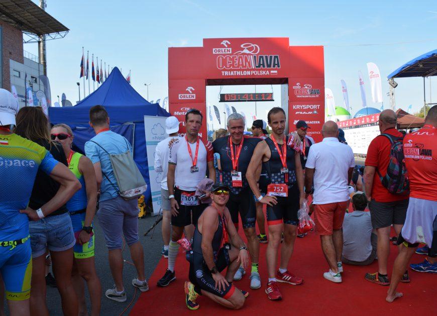 NaKolei.pl - Krajowe zawody triathlonowe - pracownicy CTL Logistics z brązem