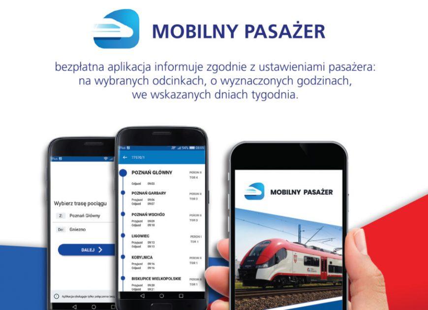NaKolei.pl - Koleje Wielkopolskie dołączyły do aplikacji Mobilny Pasażer