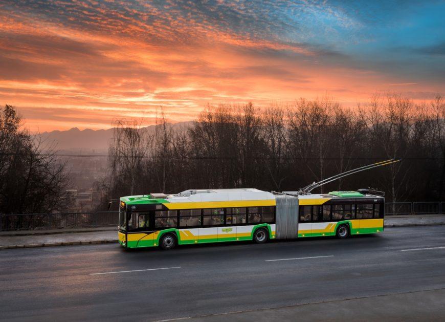 NaKolei.pl - Trolejbusy Trollino 18 dla Rumunii. Solaris sprzeda ich nawet 50 sztuk