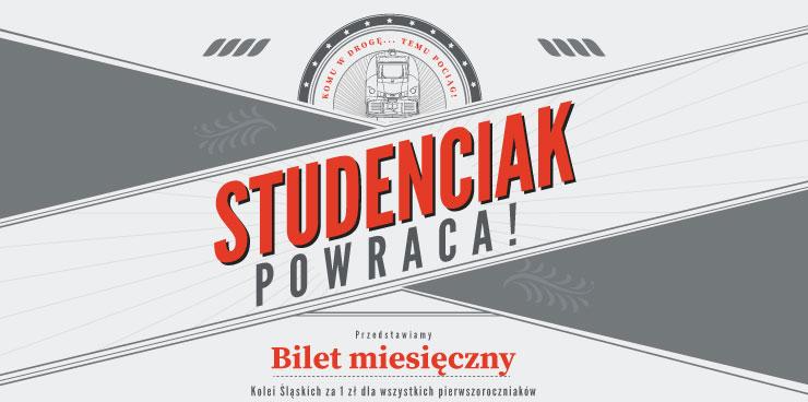 NaKolei.pl - Pociągiem po studencku, czyli bardzo tanio. Wraca Oferta Studenciak