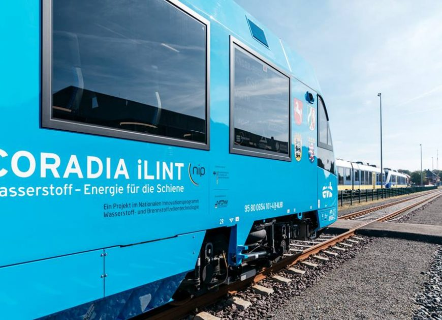 NaKolei.pl - Wodorowy pociąg Coradia iLint Alstomu po pierwszym kursie z pasażerami