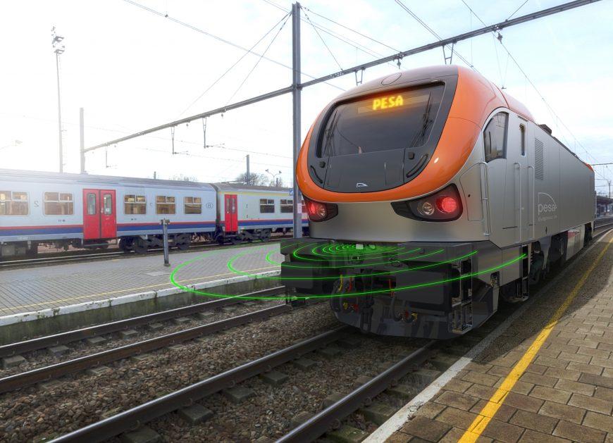 NaKolei.pl - Dwunapędowa lokomotywa autonomiczna Pesy dla PKP CARGO. Podpisanie umowy na InnoTransie
