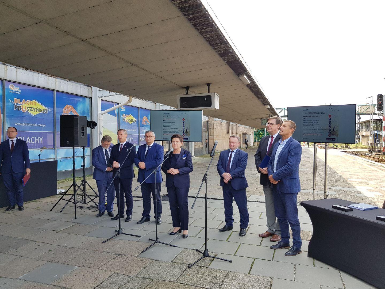 Oświęcim będzie miał nowy dworzec kolejowy. Planowany koniec prac to IV kw. 2019 r.