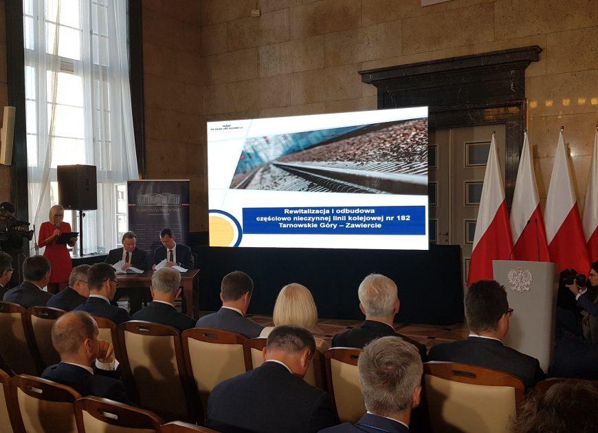 NaKolei.pl - Linia nr 182 Tarnowskie Góry-Zawiercie do rewitalizacji z dofinansowaniem w wysokości ponad pół miliarda zł