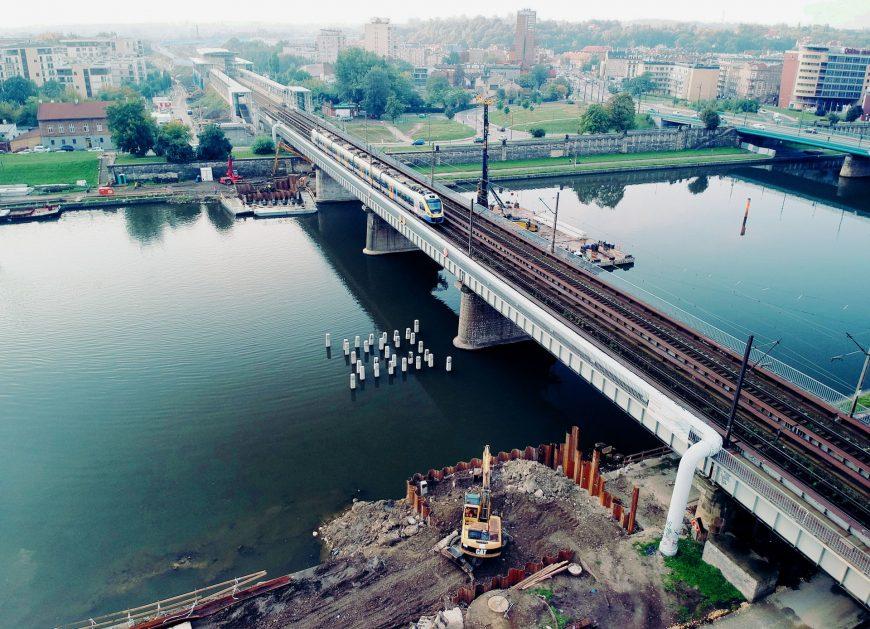 NaKolei.pl - Krakowska linia średnicowa: W 2019 roku nowy most na Wiśle dostępny dla pociągów