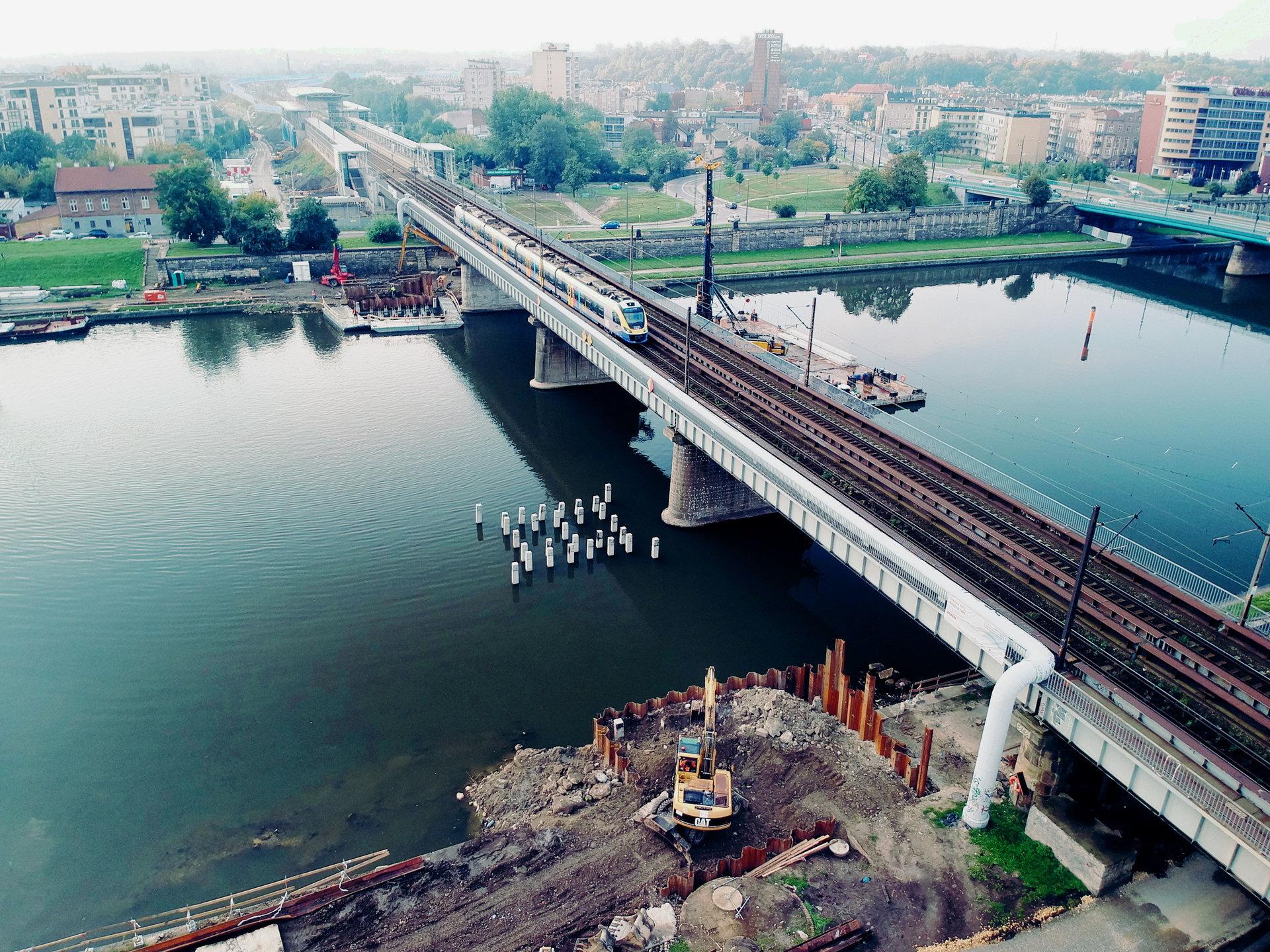 Krakowska linia średnicowa: W 2019 roku nowy most na Wiśle dostępny dla pociągów
