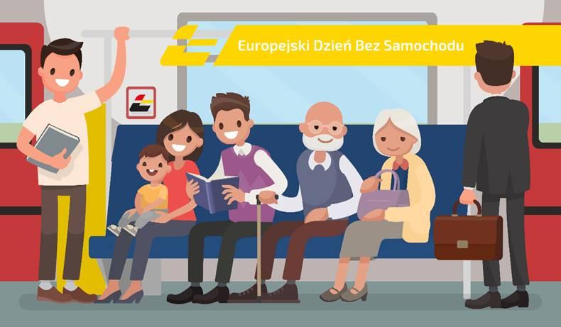 NaKolei.pl - Bezpłatne przejazdy pociągami ŁKA dla kierowców. 22 września to Dzień bez Samochodu