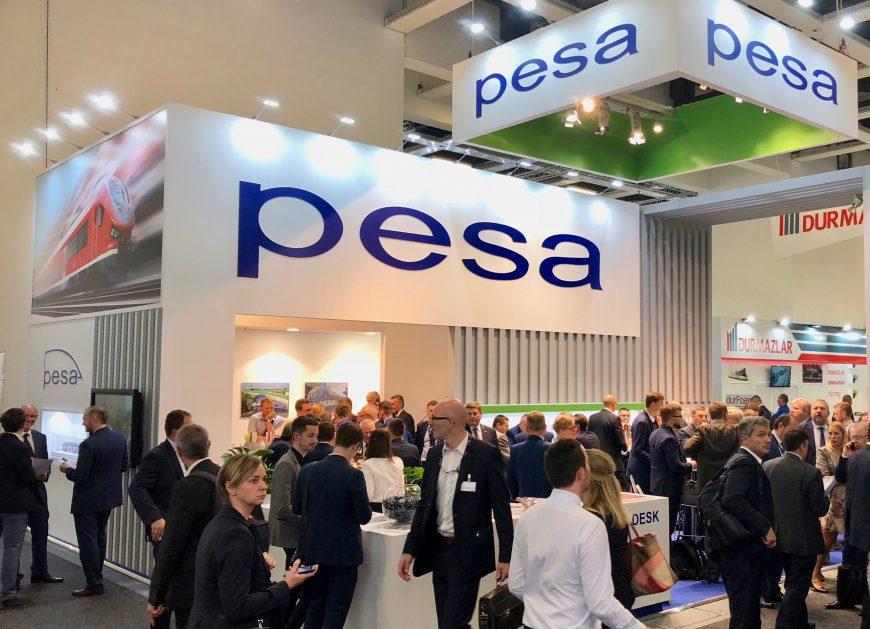 NaKolei.pl - PESA podsumowuje swój udział w InnoTransie (ZDJĘCIA)