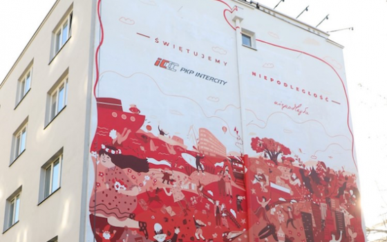 mural PKP Intercity