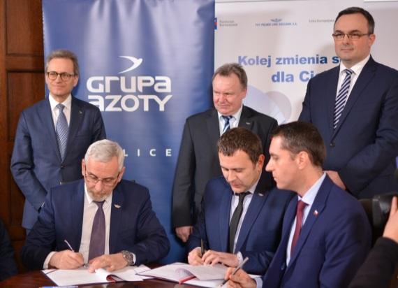 Fot. PKP PLK/Zachodniopomorski Urząd Wojewódzki