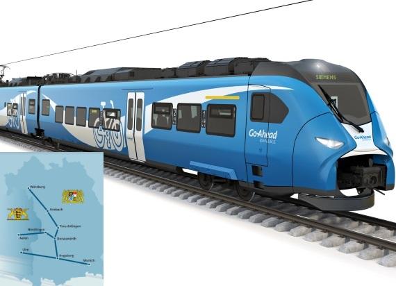 Siemens Mobility dostarczy w rejon Augsburga 56 regionalnych zespołów trakcyjnych