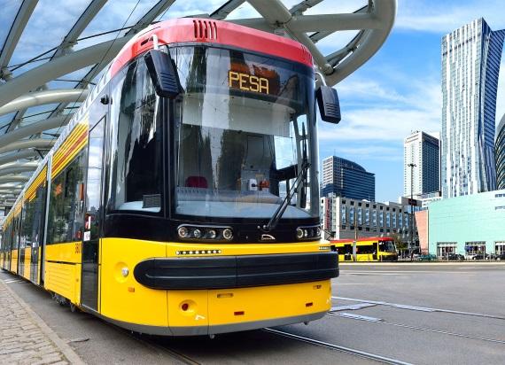 Pesa rozważa odwołanie od wyniku przetargu na dostawę tramwajów dla Warszawy