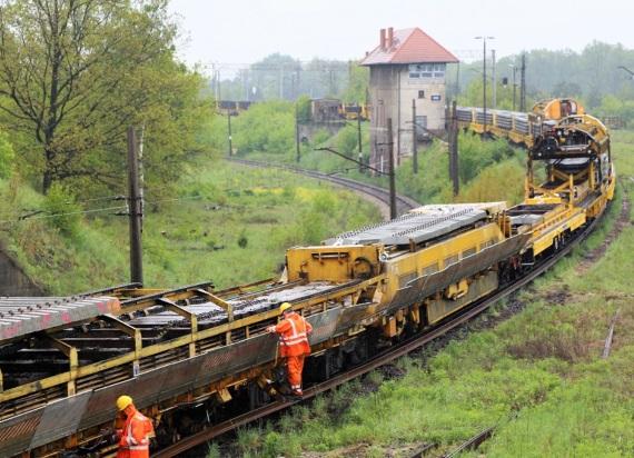 Trwają prace na ważnych liniach towarowych Od Toszka do Koźla
