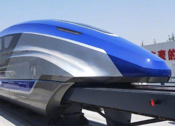 Chiny zaprezentowały superszybki pociąg. Rozpędza się do 600 km/h!